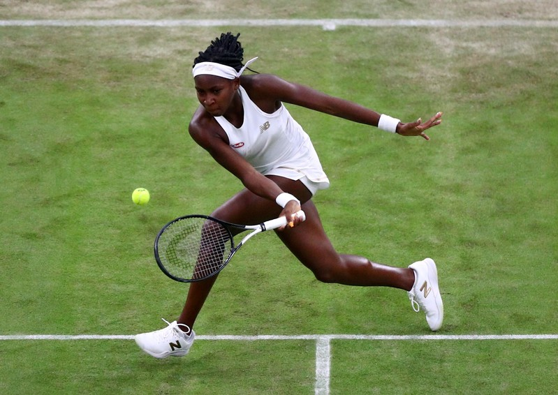 15-year-old Coco Gauff's first Grand Slam run continues