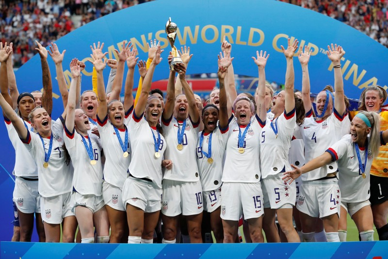 Petition calls for equal pay for United States  women World Cup soccer champs