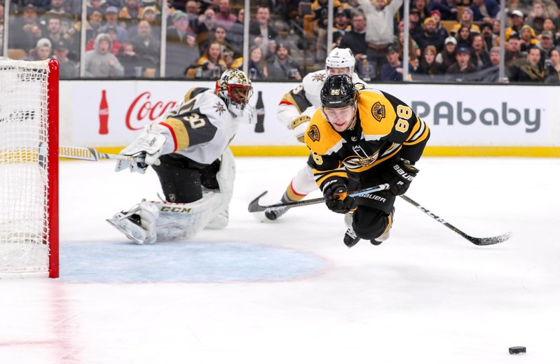 NHL Vegas Golden Knights at Boston Bruins
