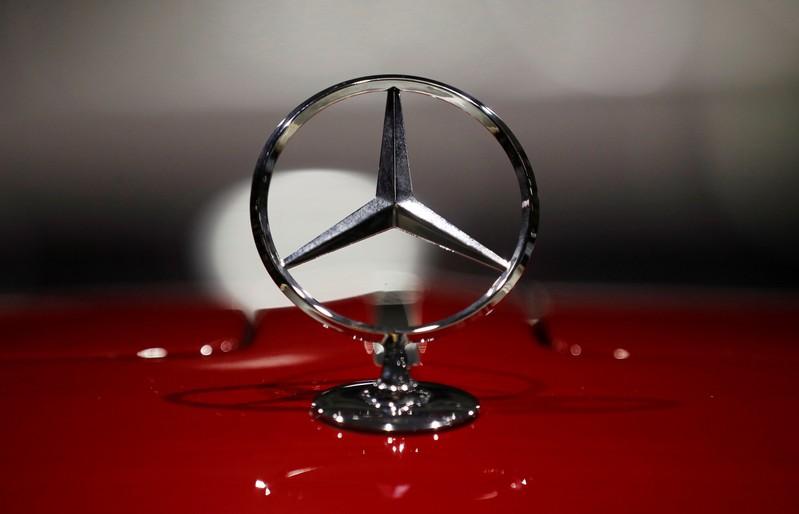 Daimler AG annual shareholder meeting in Berlin