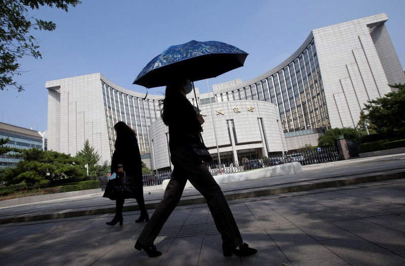 China central bank injects 200 billion yuan in one-year MLF rollover, rate unchanged | One America News Network