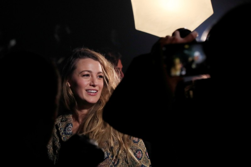FILE PHOTO: Blake Lively arrives to attend the Spring/Summer 2019 women's ready-to-wear collection show for fashion house Dior during Paris Fashion Week