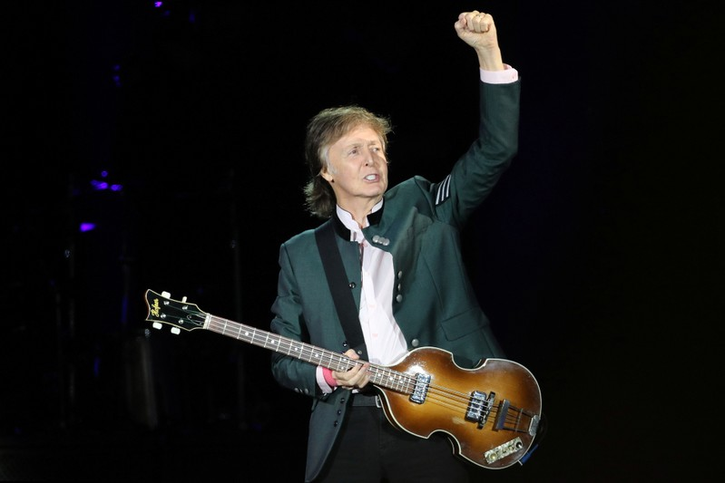 Paul McCartney writing stage musical It's a Wonderful Life