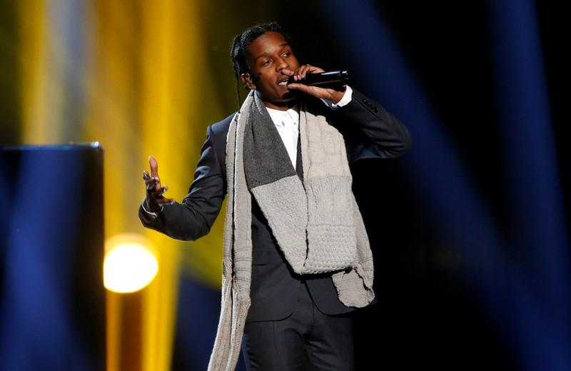 FILE PHOTO: A$AP Rocky performs