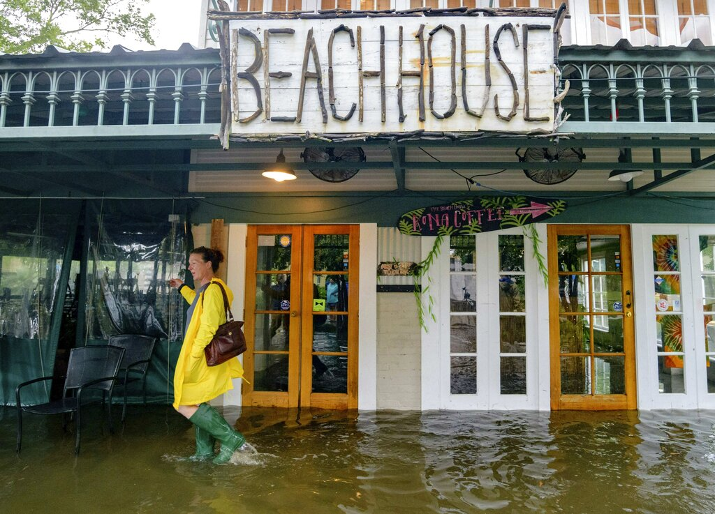 Mississippi River Rises in Louisiana as Tropical Storm Barry Approaches