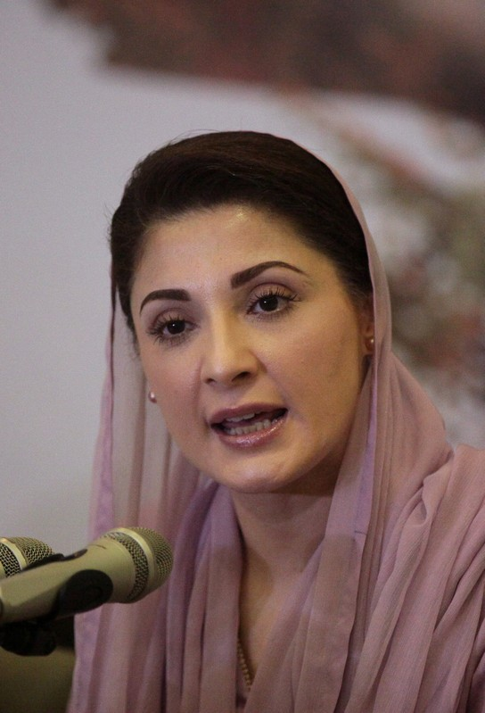 FILE PHOTO: Maryam Nawaz, speaks during a news conference in Lahore,