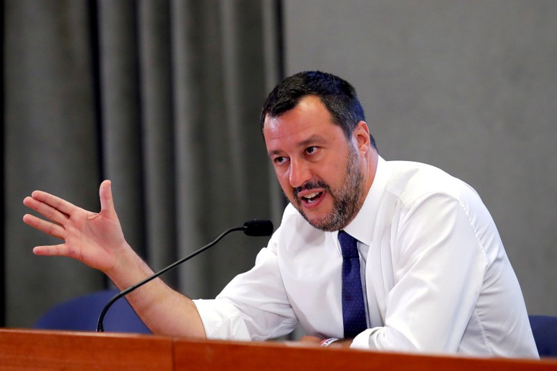 Italy's Salvini gives up on government and calls for elections