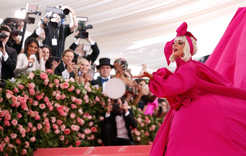 FILE PHOTO: Metropolitan Museum of Art Costume Institute Gala - Met Gala - Camp: Notes on Fashion- Arrivals - New York City, U.S. – May 6, 2019 - Lady Gaga