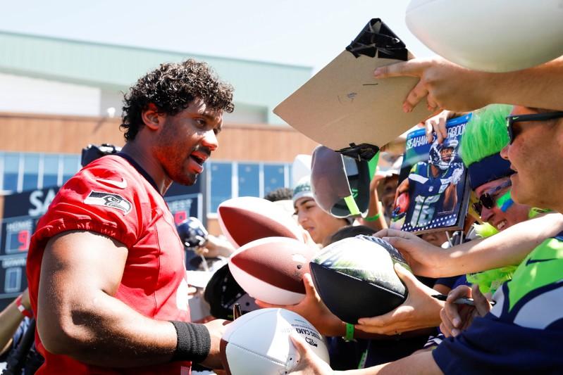 FILE PHOTO: NFL: Seattle Seahawks-Training Camp