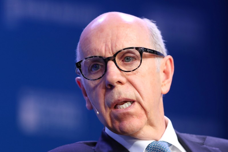 Ron Mock, President and CEO, Ontario Teachers' Pension Plan, speaks at the 2019 Milken Institute Global Conference in Beverly Hills