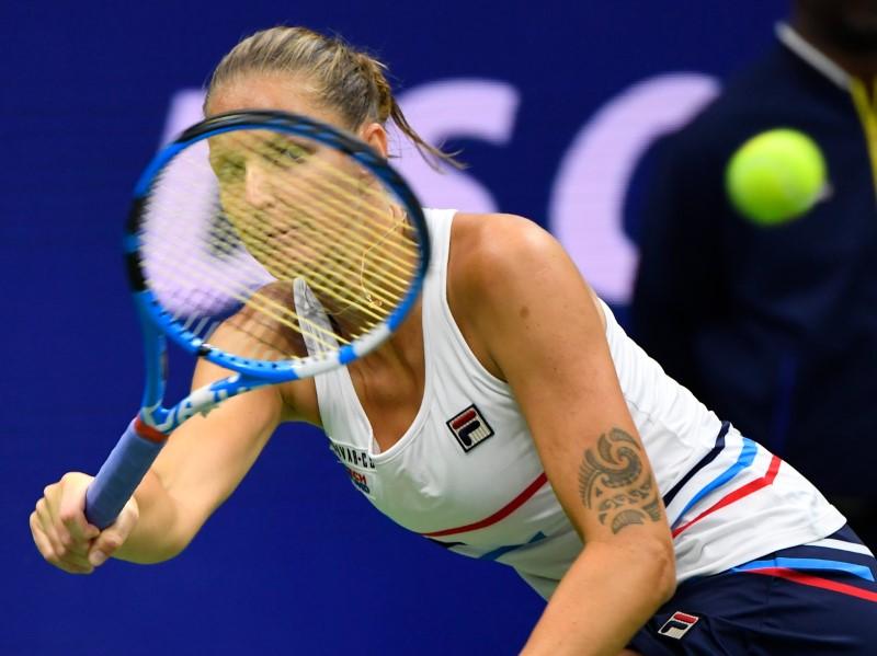 Pliskova overpowers Bolkvadze under the roof at the U.S. Open