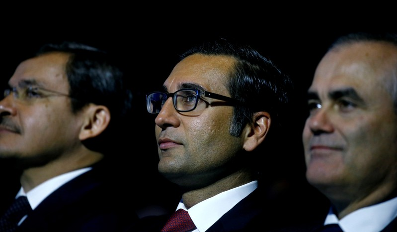 FILE PHOTO: Khan, CEO International Wealth Managementof Swiss bank Credit Suisse attends the company's annual shareholder meeting in Zurich