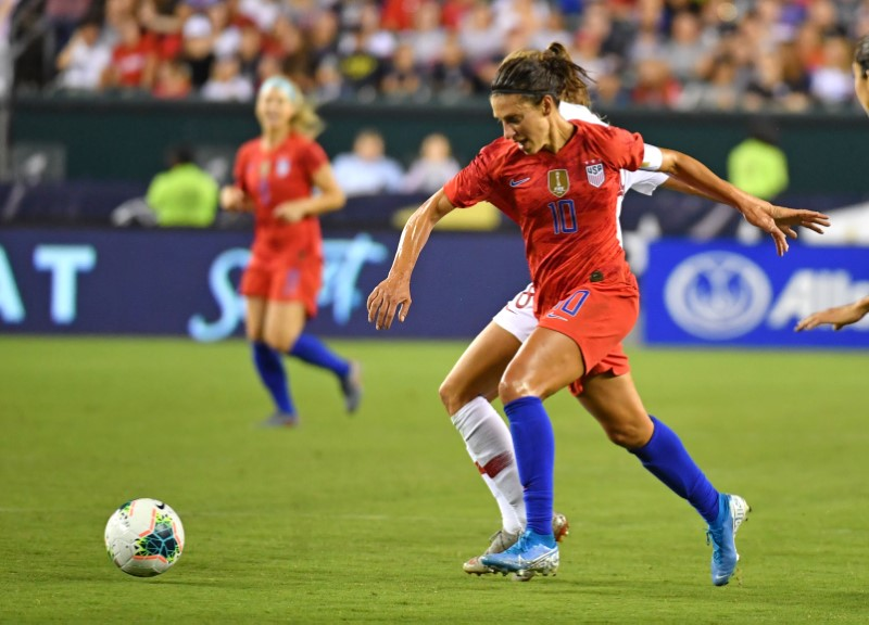 Carli Lloyd Gets Her Goal in Philadelphia as USWNT Cruises Past Portugal