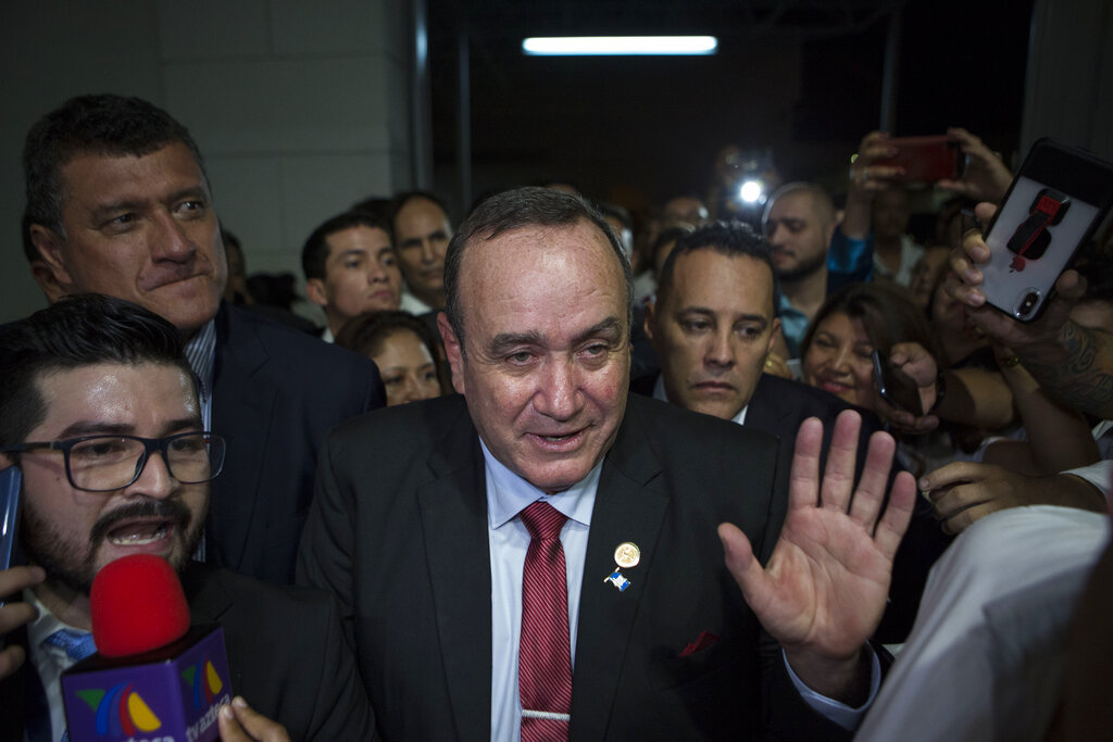 Right-Wing Candidate Alejandro Giammattei Wins Guatemala Presidency