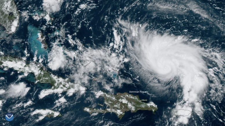 Hurricane Dorian 'extremely dangerous' - but could yet spare Florida