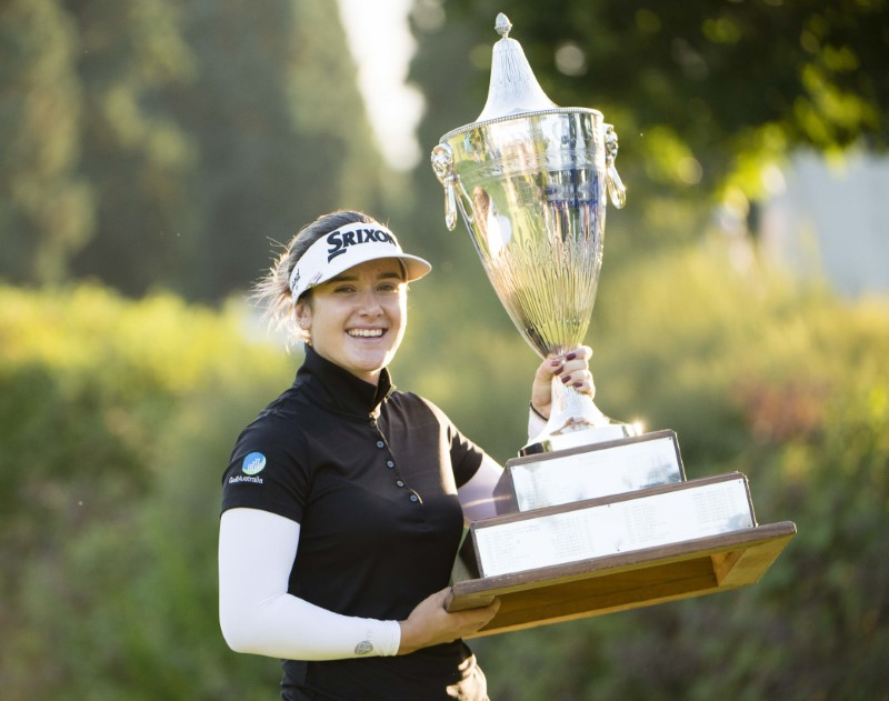 Hannah Green overcomes 3-shot deficit, Yealimi Noh to win Portland Classic