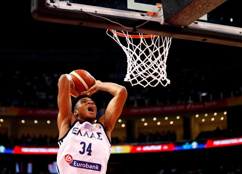 Basketball - FIBA World Cup - Greece v Montenegro