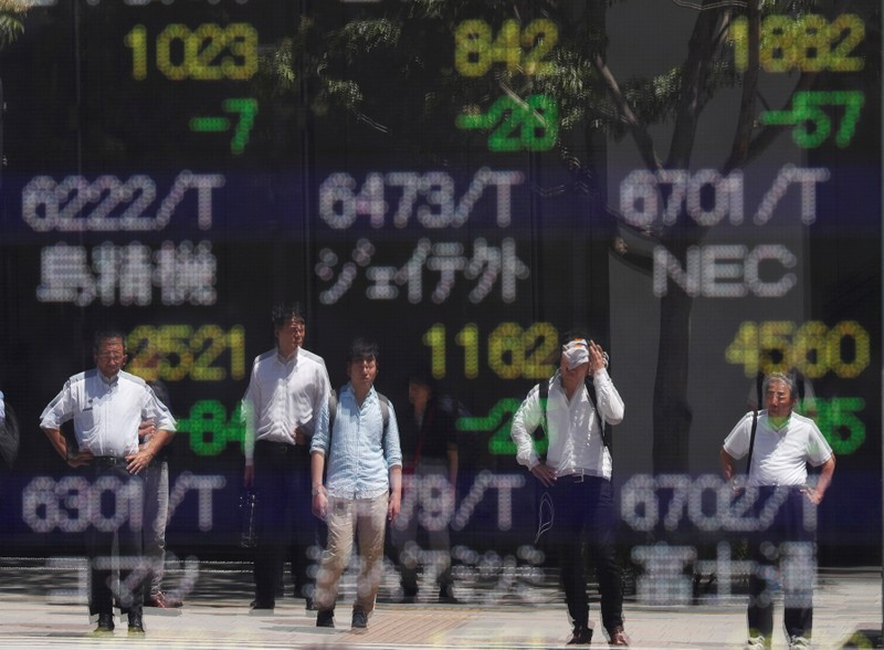 Tokyo: Stocks fall on renewed US-China trade war fears