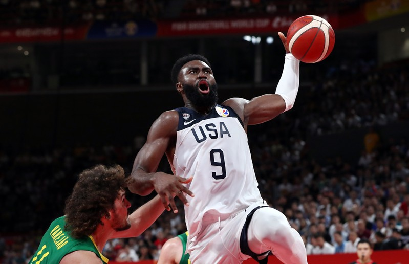 Basketball- FIBA World Cup- Second Round- Group K- United States v Brazil