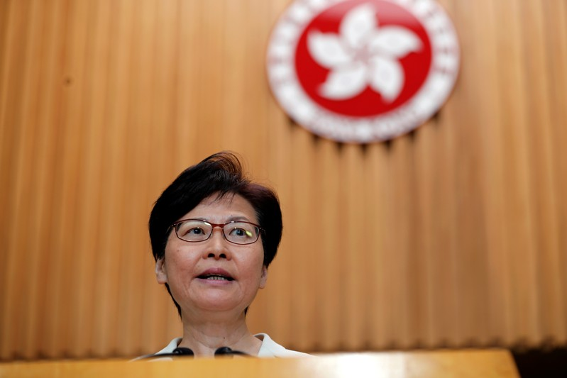 Hong Kong Leader Warns U.S. Against 'Unnecessary' and 'Inappropriate' Actions