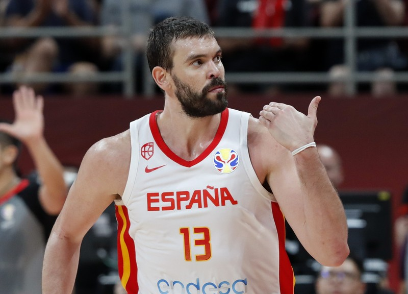 Basketball - FIBA World Cup - Semi Finals - Spain v Australia