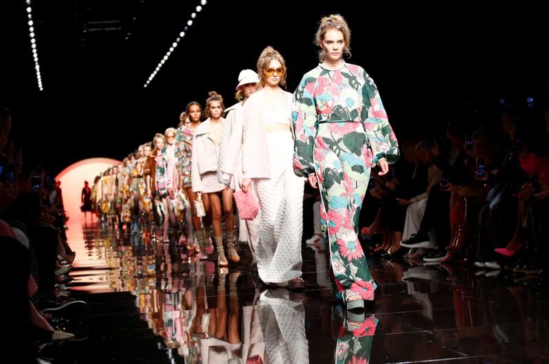 Emporio Armani Spring/Summer 2020 collection during fashion week in Milan