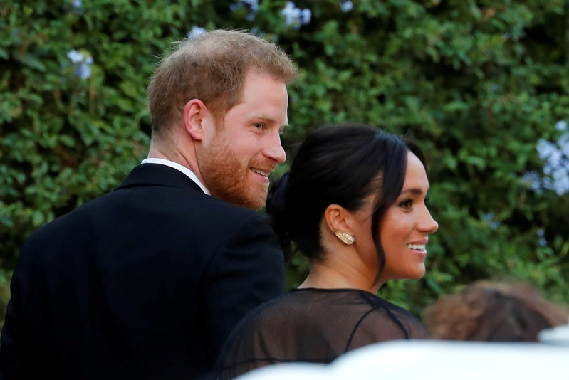 Prince Harry, Meghan, Ivanka Trump attend designer's Rome wedding