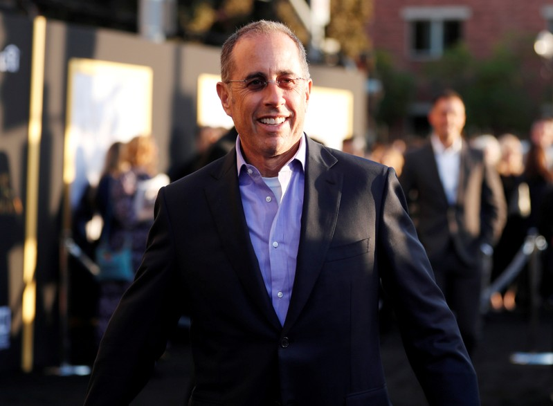 """FILE PHOTO: Seinfeld at premiere of the movie """"A Star Is Born"""" in Los Angeles in 2018"""