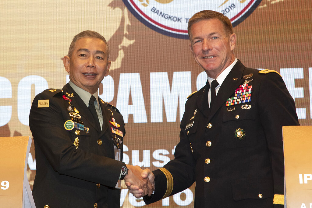 U.S. Military Officials In Thailand For The Indo-Pacific Armies Chiefs Conference
