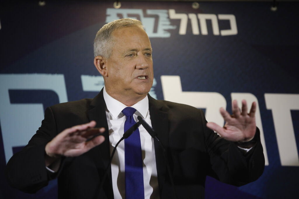 Netanyahu, Gantz call for unity government - but on different terms
