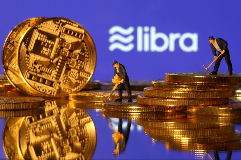 FILE PHOTO: FILE PHOTO: Libra logo in illustration picture