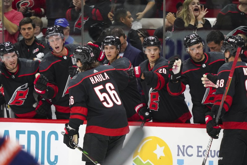 Hurricanes make history with win