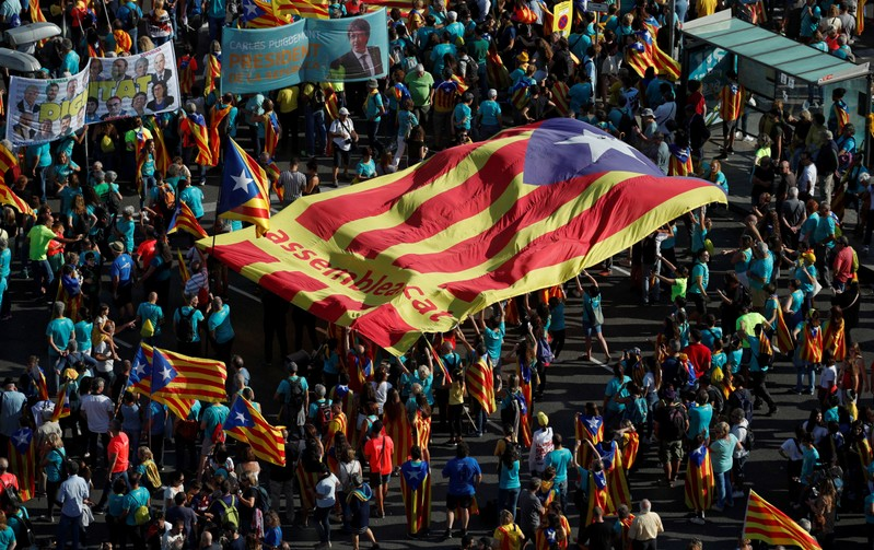 Catalan separatist leaders to get up to 15 years in jail