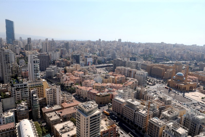 Thousands of people demonstrated in Beirut on Thursday against the government's management of a dire economy in one of Lebanon's biggest protests in years, leading the Cabinet to pull a proposed new levy on WhatsApp calls.