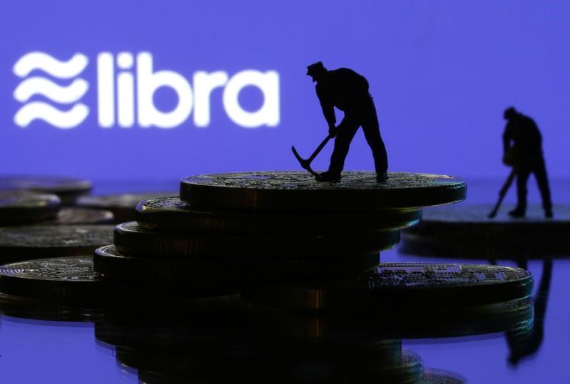 Libra logo in illustration picture