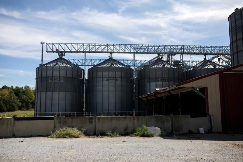 Kruger's farm is seen in Harrod, Ohio
