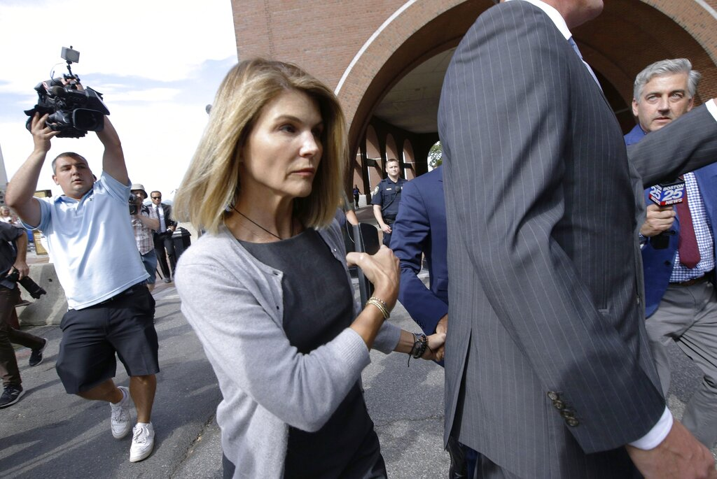 Lori Loughlin Faces New Charges in College Admissions Scam