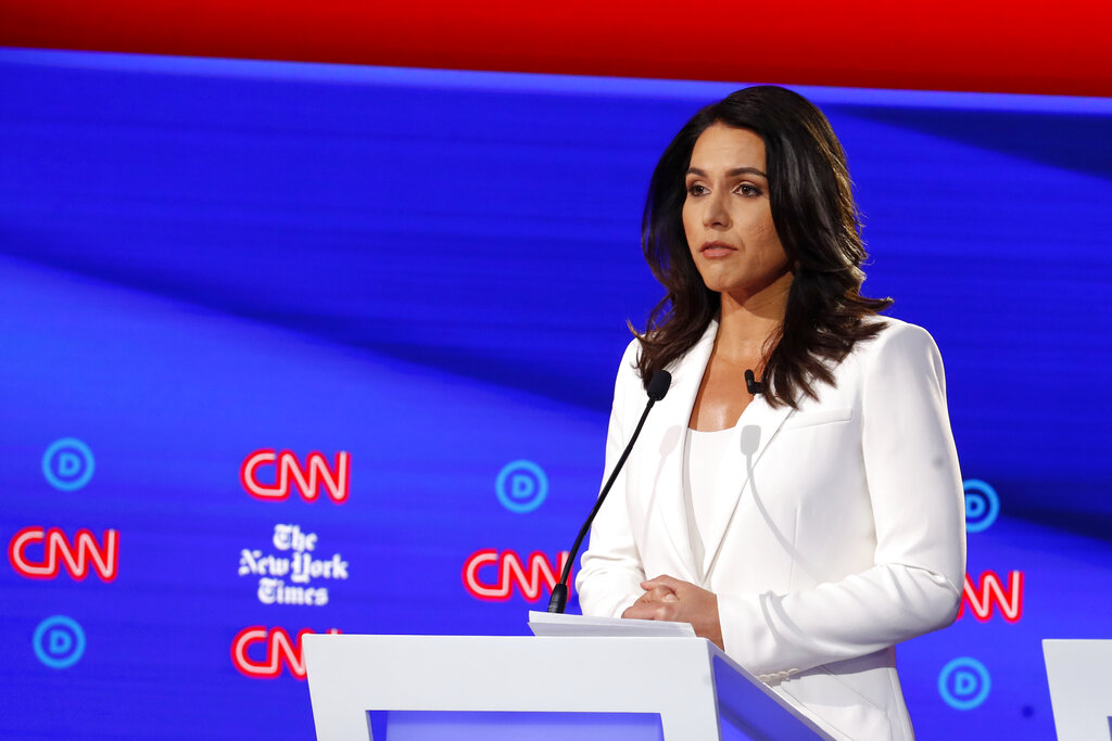 Gabbard: Hillary Clinton Is The 'Queen Of Warmongers'