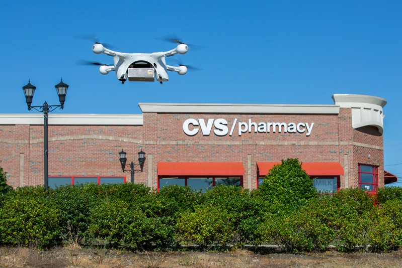 Autonomous UPS drones begin prescription home delivery service