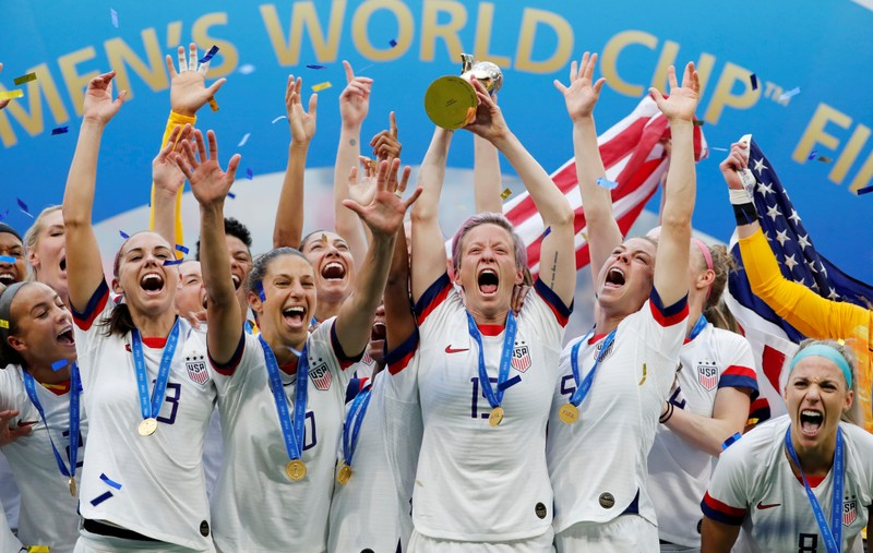 FILE PHOTO: Women's World Cup Final - United States v Netherlands