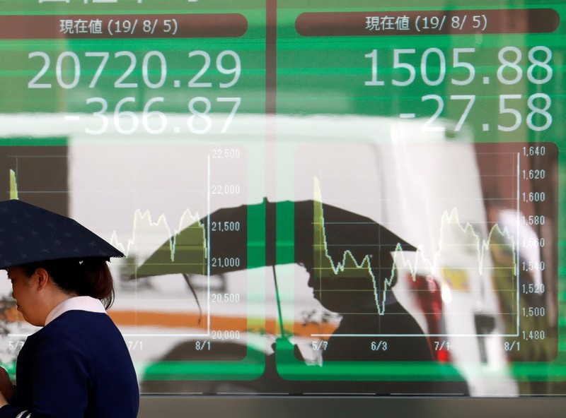 Asia shares bounce, hope for best on US-China trade