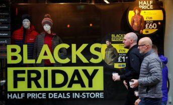UK Black Friday transactions jump 12 5% versus 2018