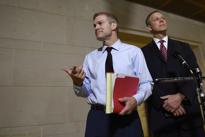 Rep. Jim Jordan Joins Adam Schiff's House Intelligence Committee
