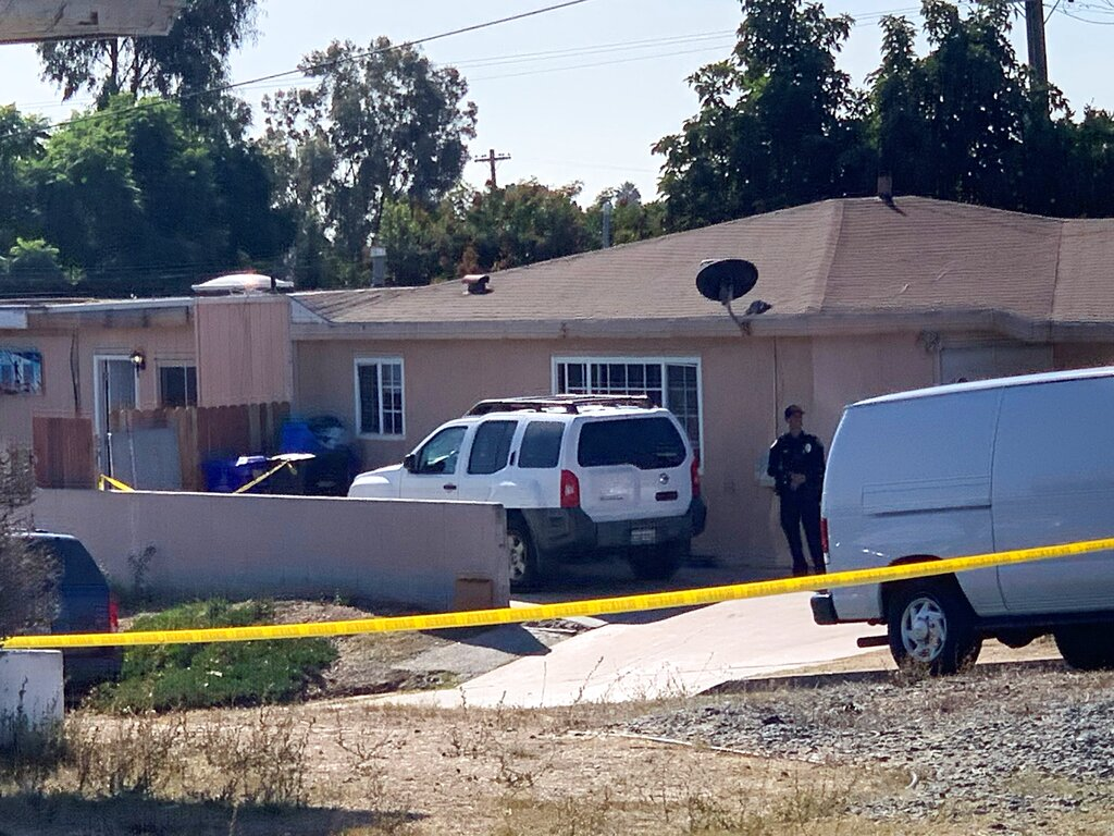 Man kills wife, three young sons in San Diego home