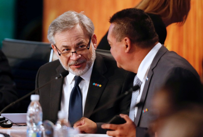 FILE PHOTO: Deputy Secretary of the U.S. Department of Energy Brouillette attends a meeting of the