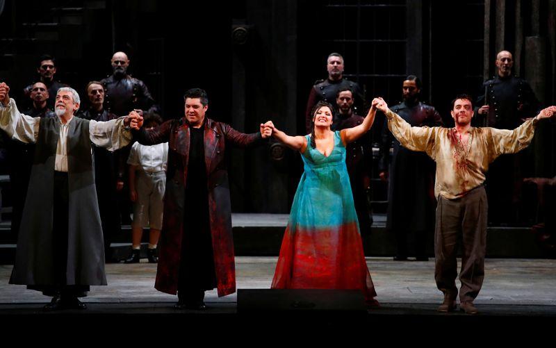 Season opening of La Scala theatre in Milan