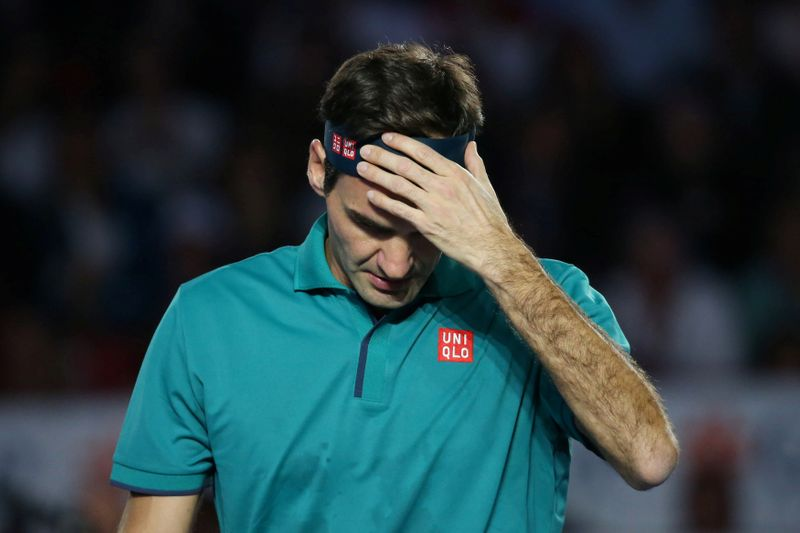 Federer admits 'breakdown' after Bogota match cancelled