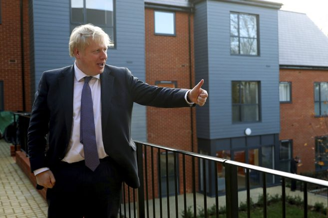 U.S. President Trump says UK PM Boris Johnson