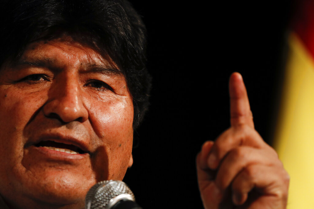Mexico calls diplomatic meeting to protest Bolivian 'harassment' over Morales asylum