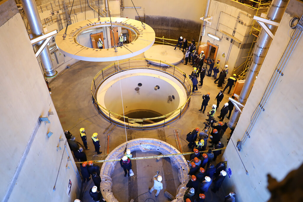 Iran launches new stage at heavy water reactor